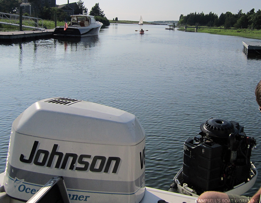 Johnson Outboard Repair, North Falmouth, MA