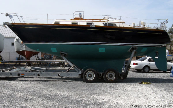 Sailboat Transport For Seatrial