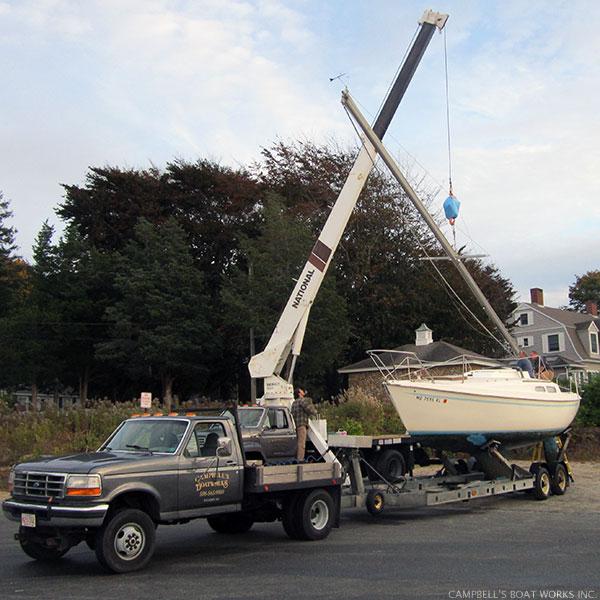Boat Hauling, Launching, Transport