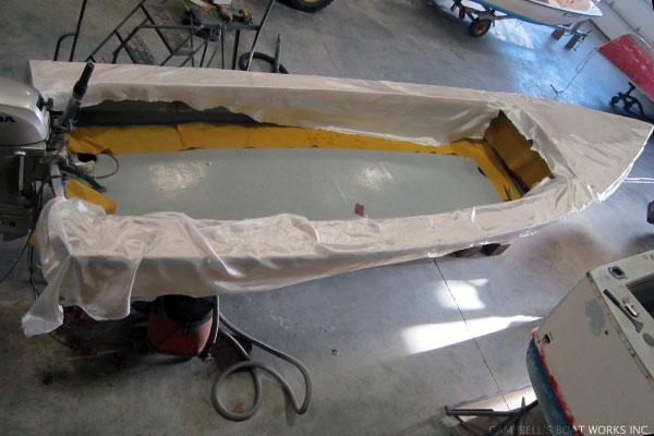 Skiff Deck Replacement