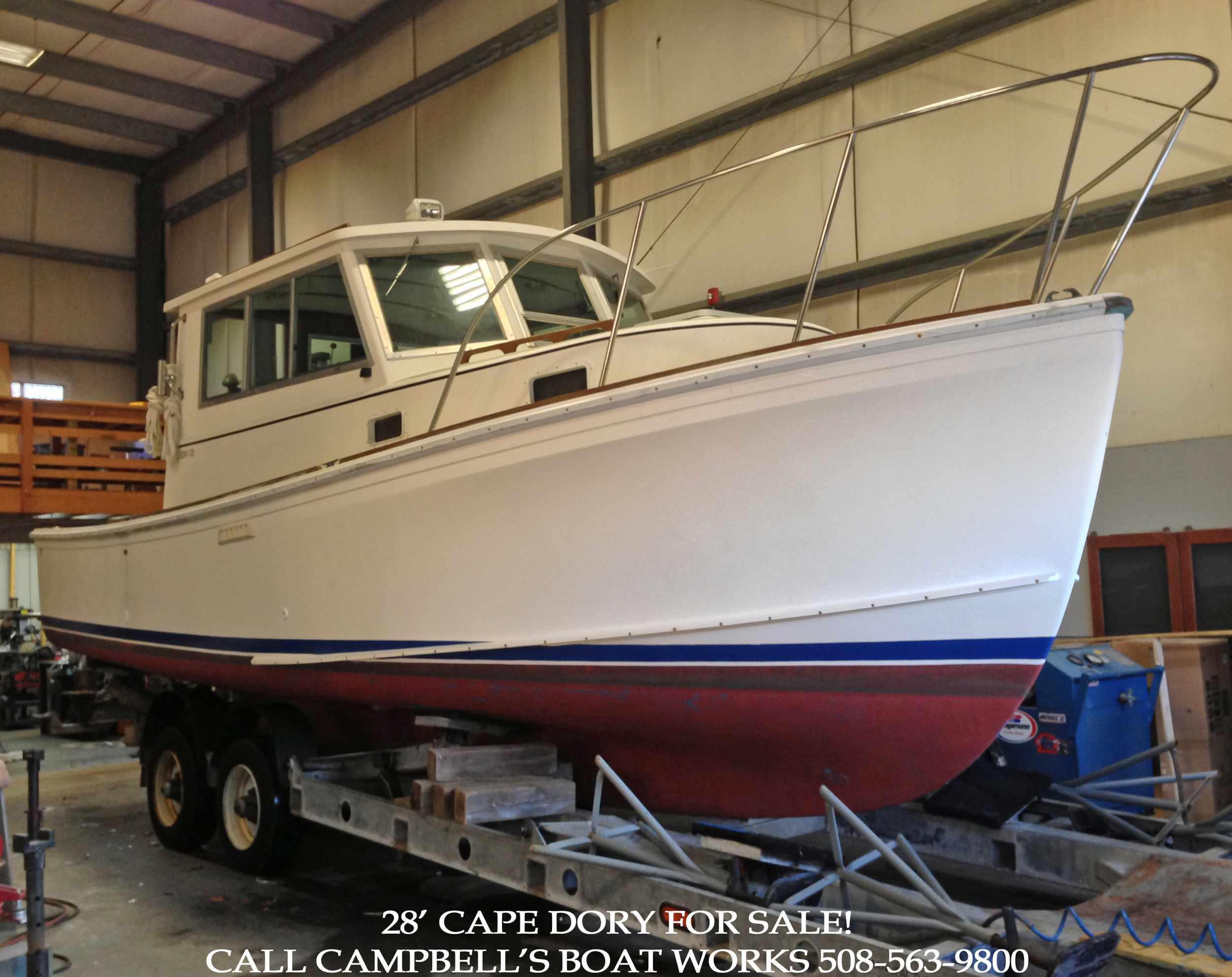 28' Cape Dory Trawler Powerboat For Sale