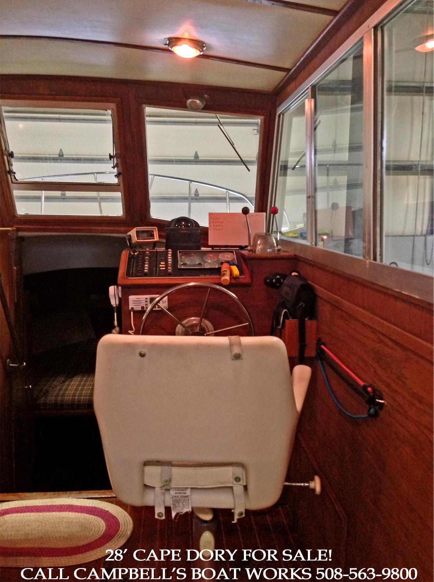 28' Cape Dory Power Cruiser Hardtop Trawler For Sale