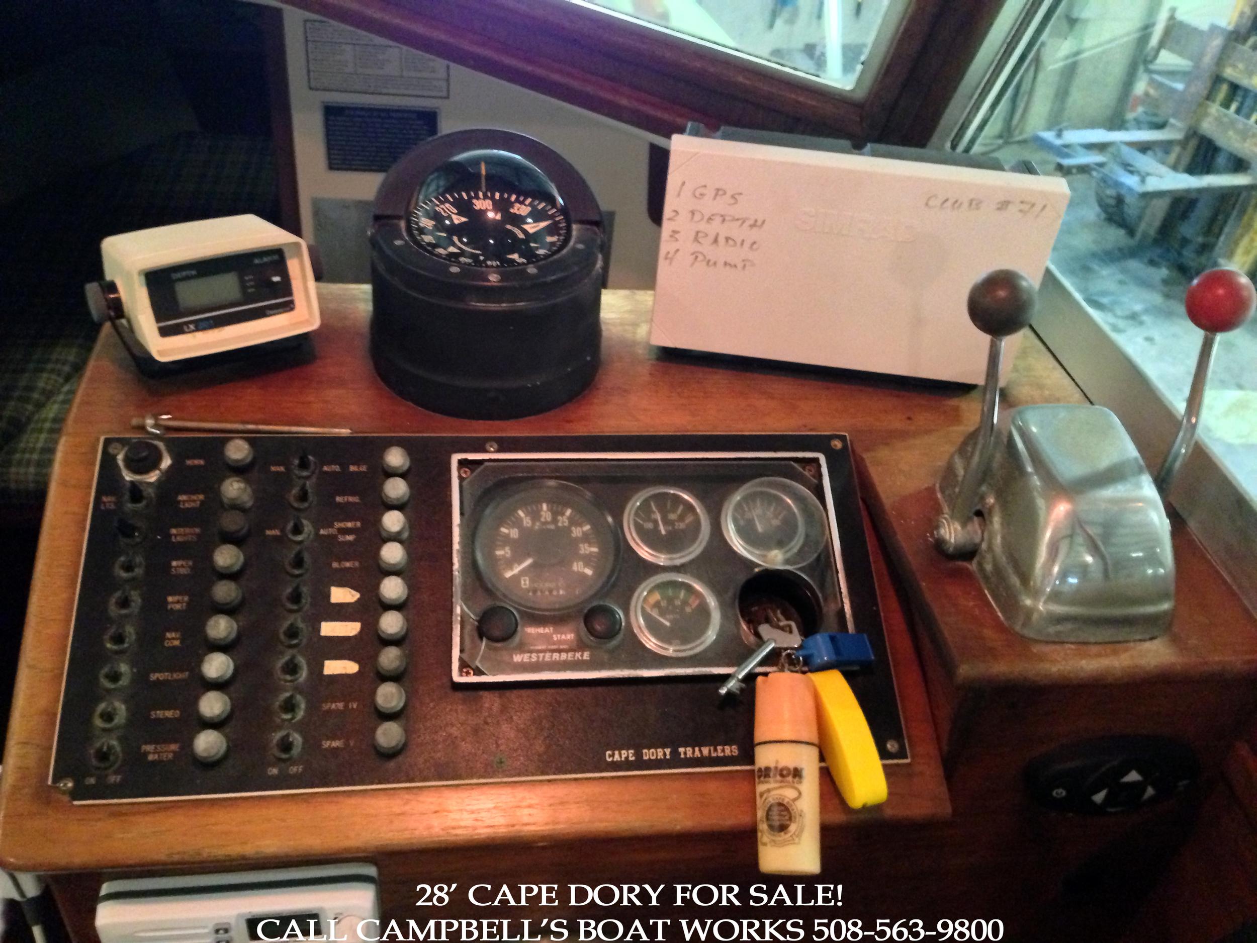 28' Cape Dory Hardtop Cruiser For Sale