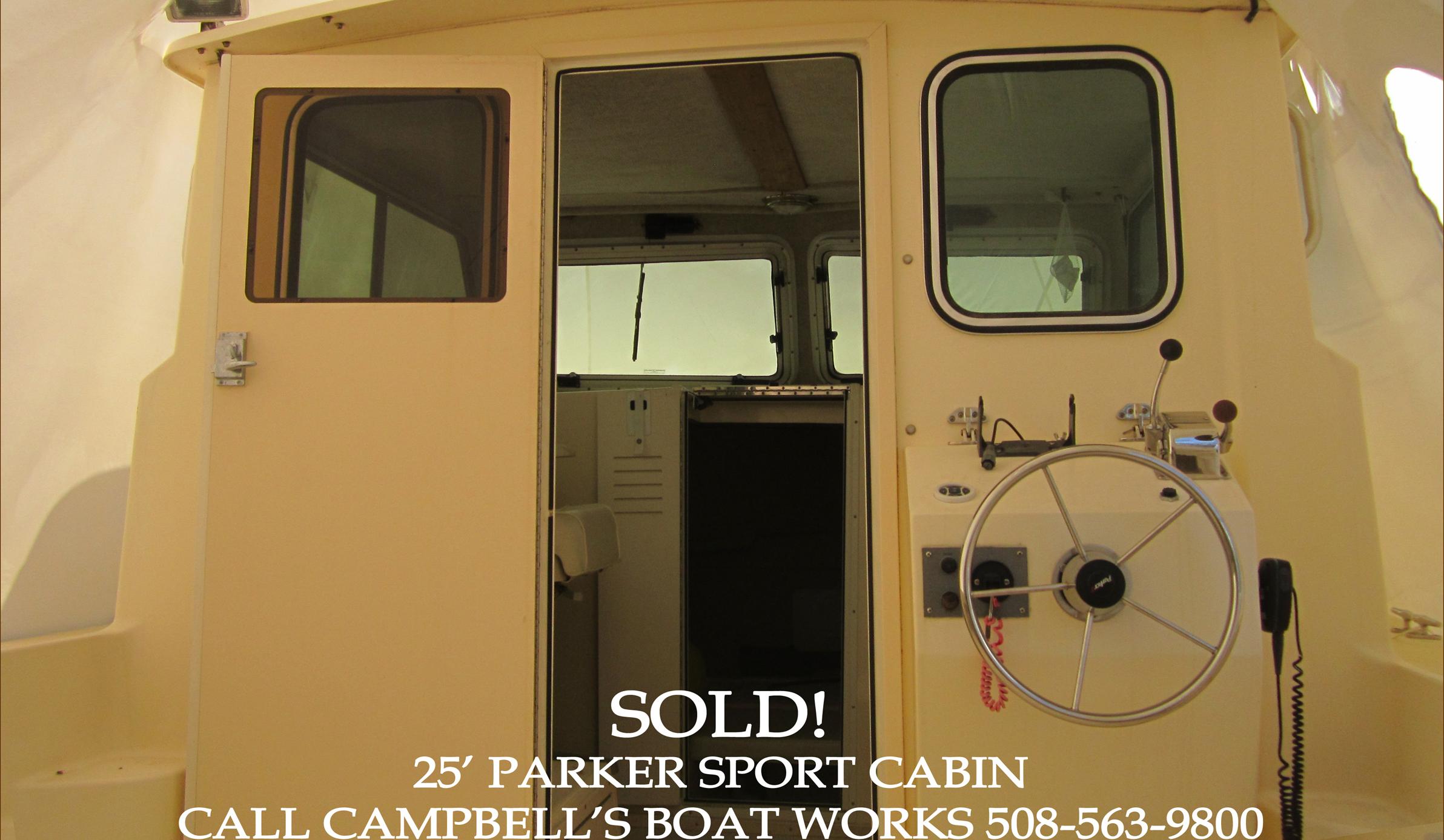 25' Parker Boat For Sale