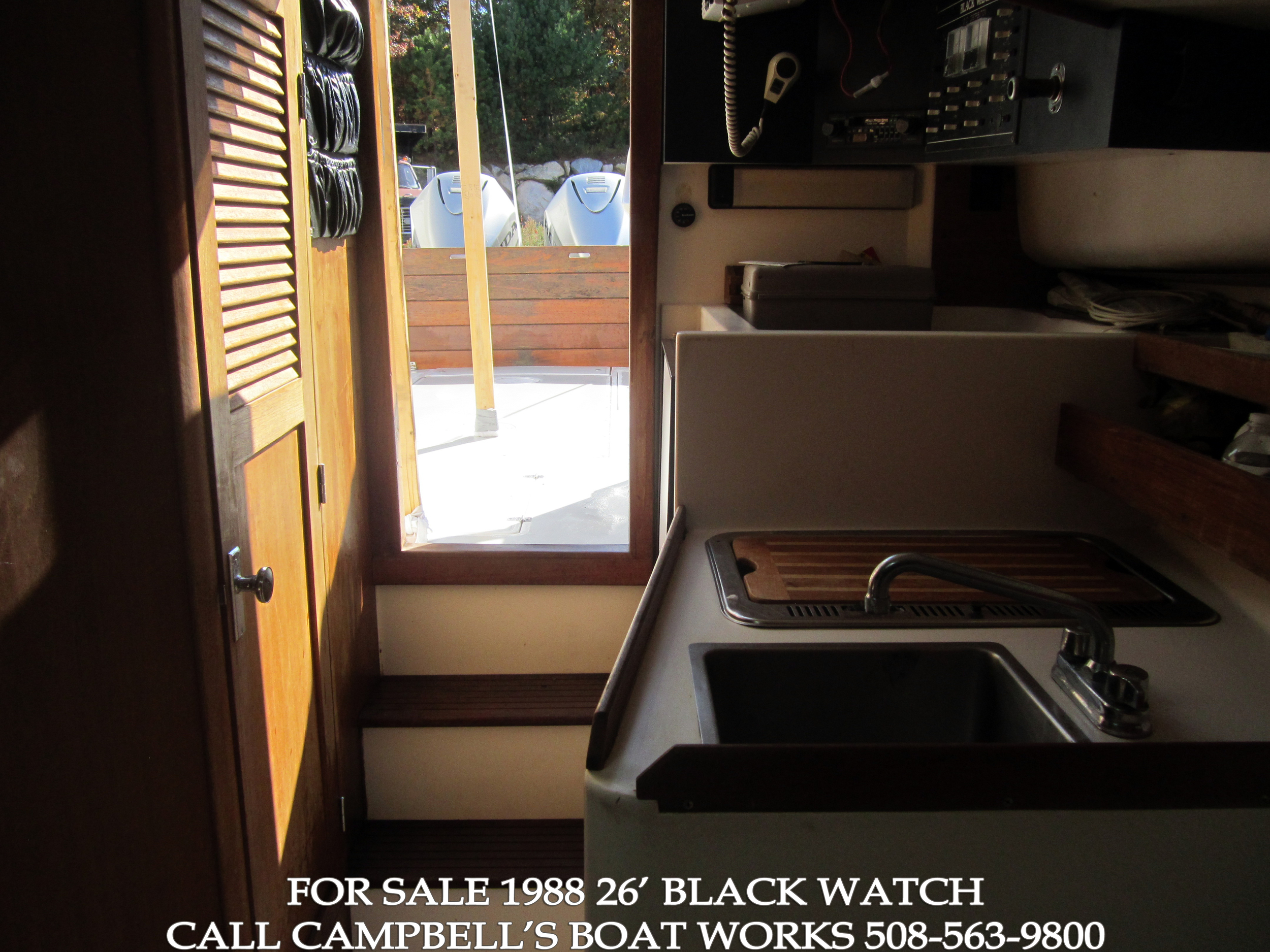 26' Black Watch Sport Fish Boat For Sale Twin Honda Outboards