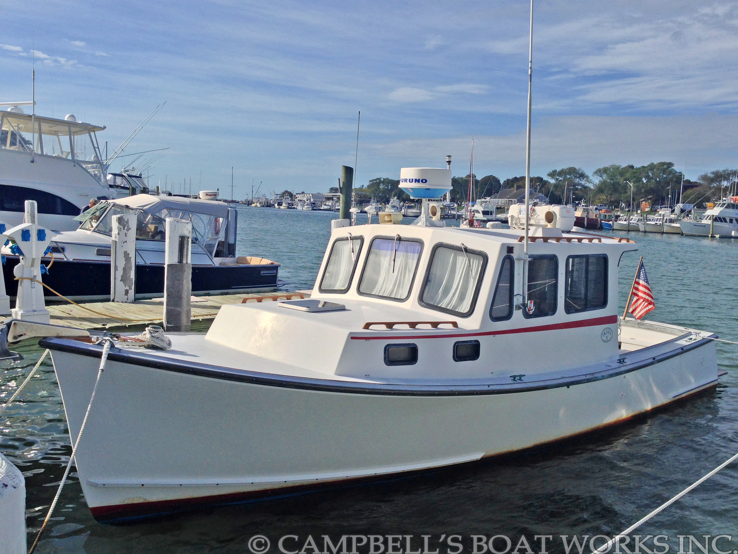 31' Duffy Downeast Lobster Boat