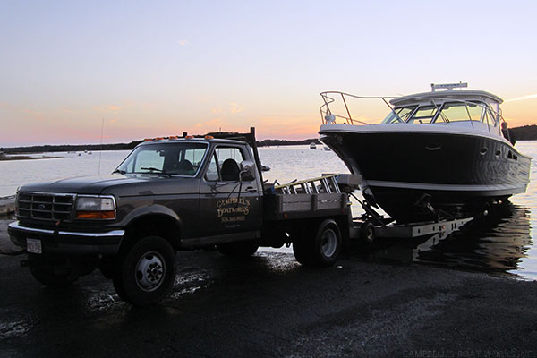 Tiara Boat Haul Out Pocasset MA