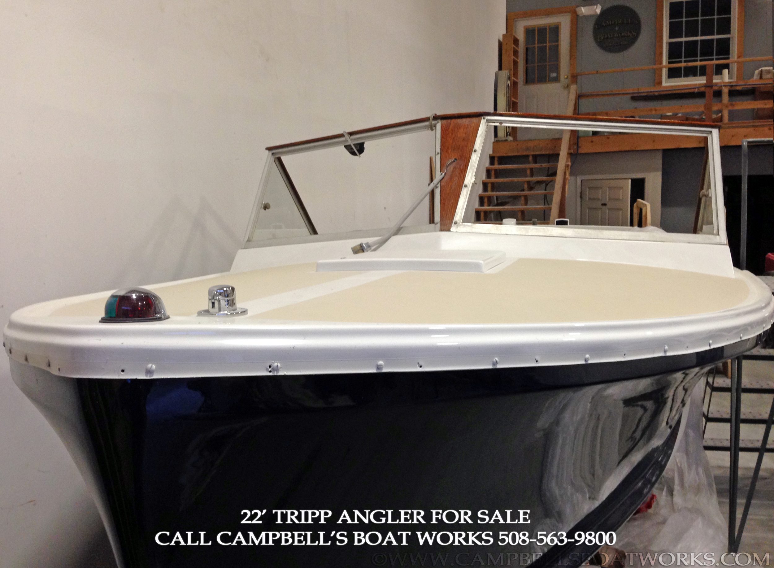Downeast Bass Boat For Sale 22' Tripp Angler