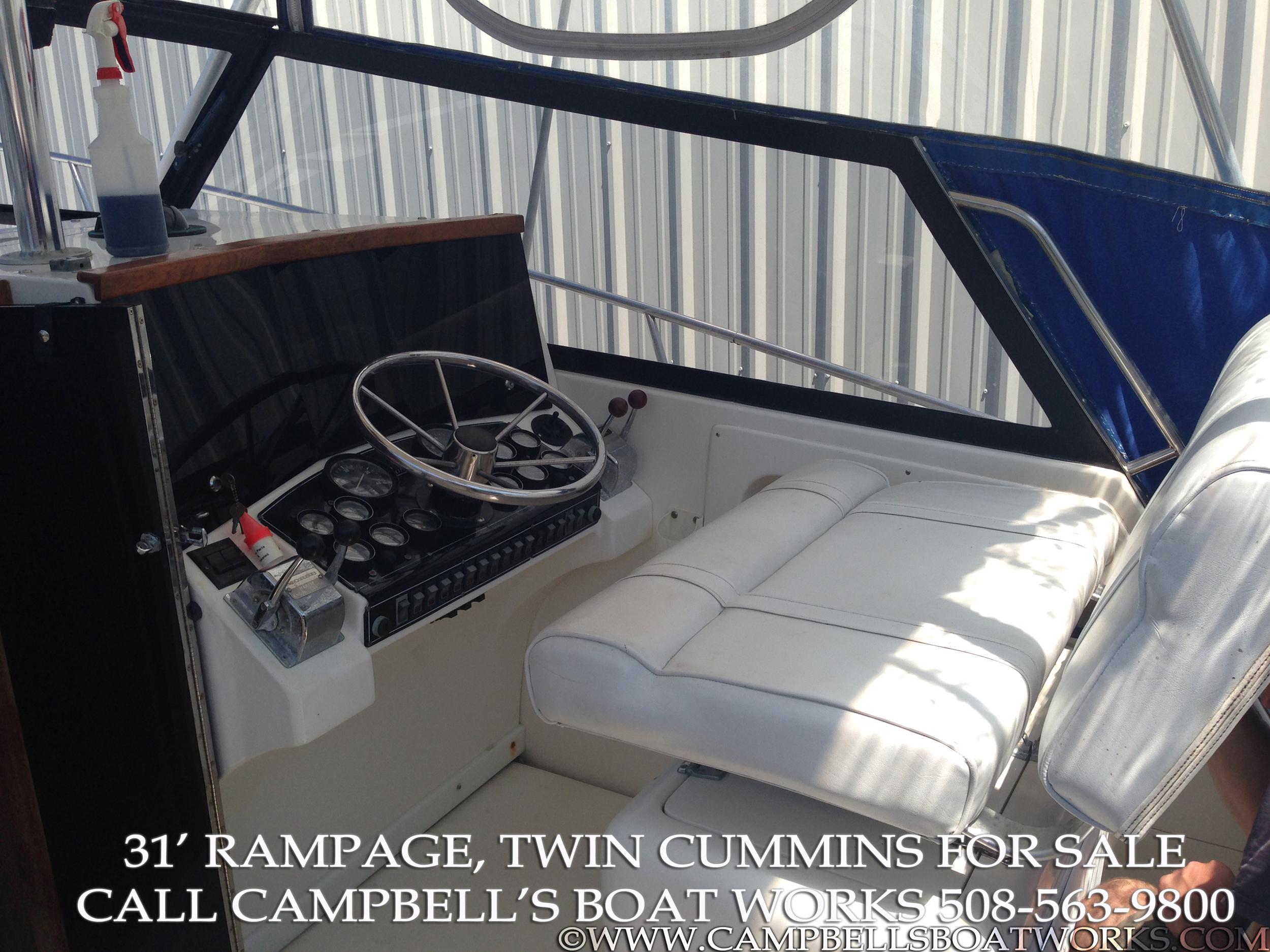 1990 31' Twin Diesel Sportfish Boat For Sale