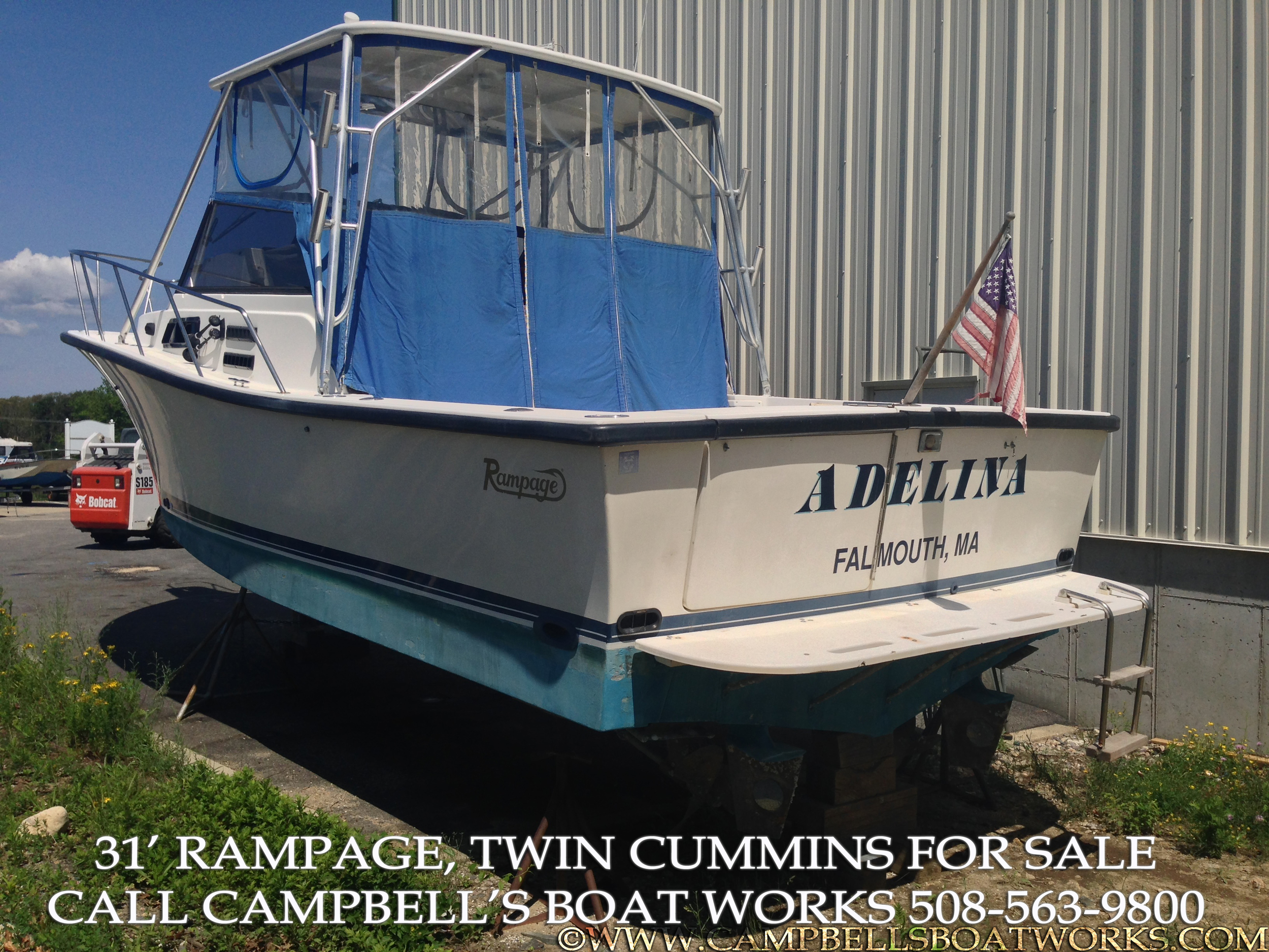 31 Foot Rampage Fishing Boat For Sale