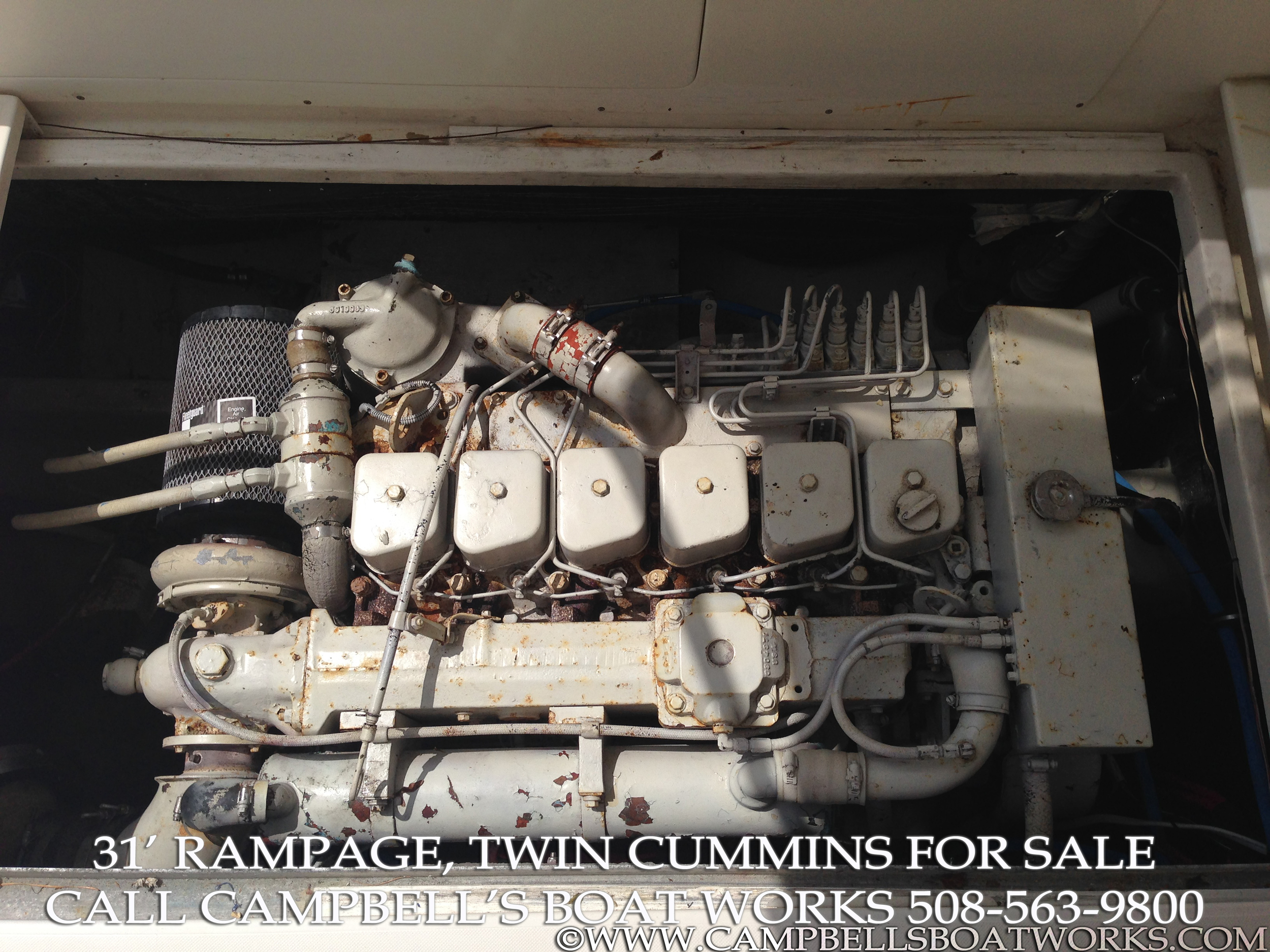 1990 31' Twin Diesel Rampage For Sale