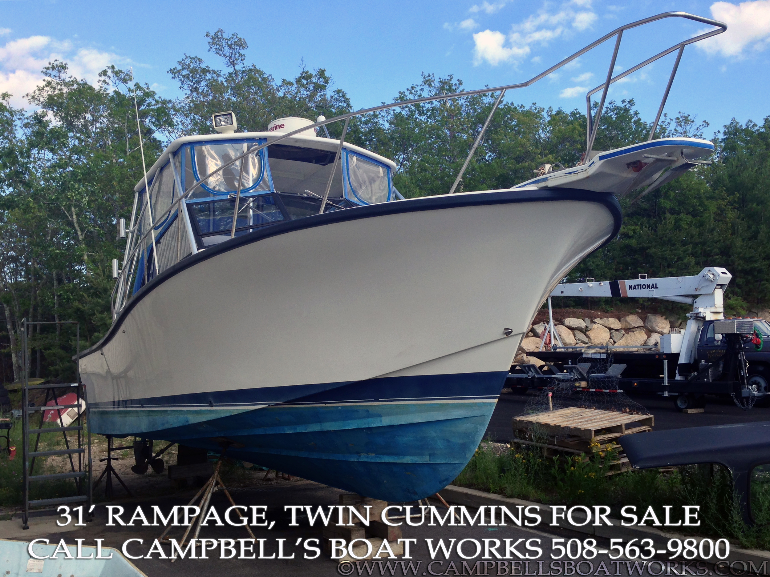 1990 31' Twin Diesel Rampage For Sale