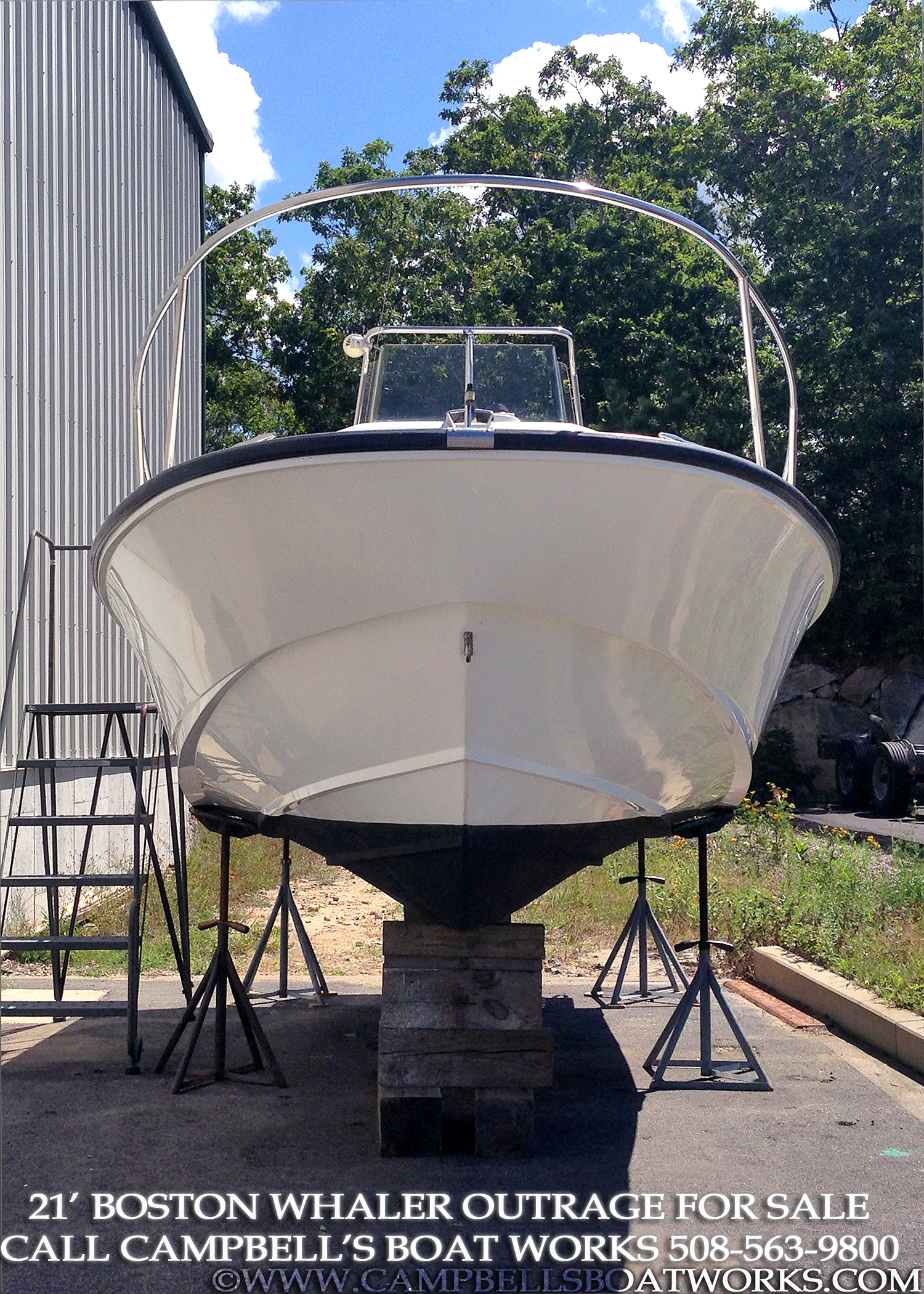 1994 21 Boston Whaler Outrage For Sale