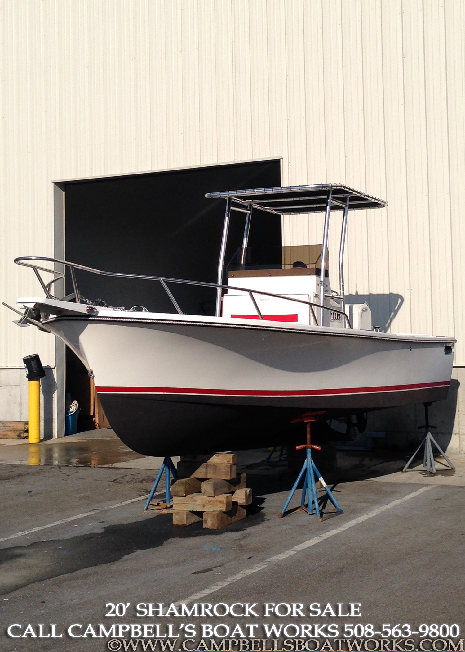 20' Shamrock Center Console Boat For Sale