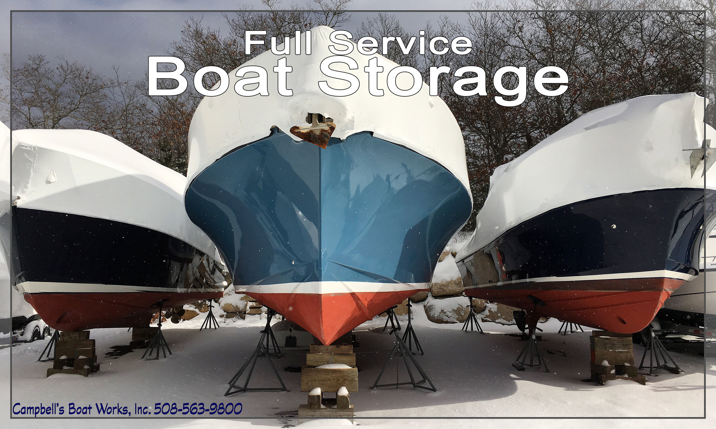 Full Service Winter Boat Storage and Maintenance