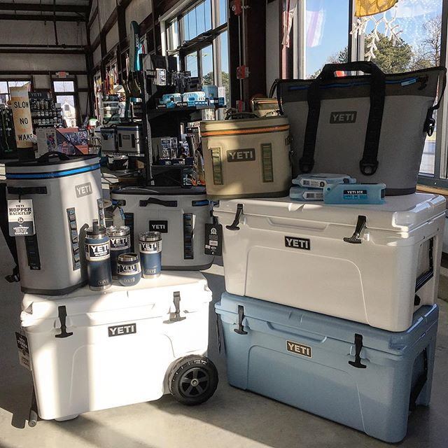 Two weeks until Christmas! Our store is full of great gifts of all sizes. We are open everyday including Christmas Eve come on by!  #yeti #shoplocal #capecod #capecodboating #alliwantforchristmas