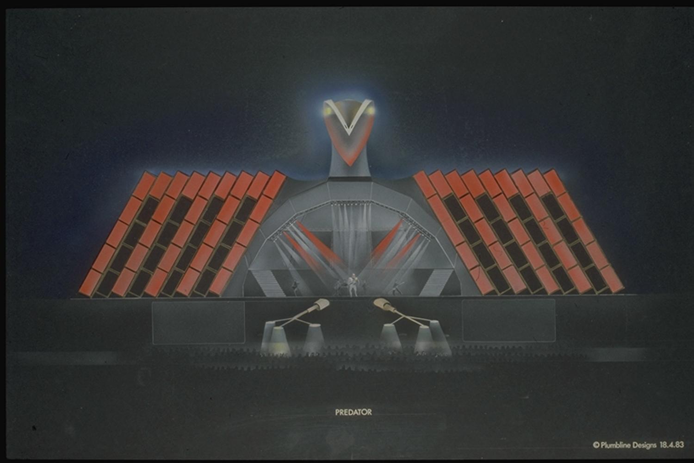 Final version of the rendering artwork
