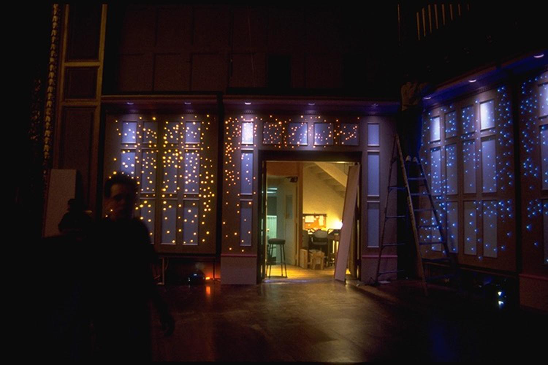 Boston Pops -  Fibre Optic scenic stage wall