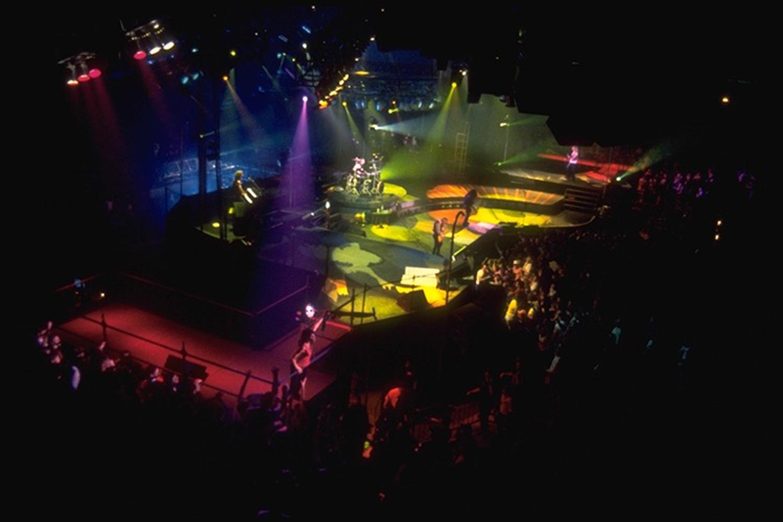 Aerosmith -  Pump Tour - Band onstage
