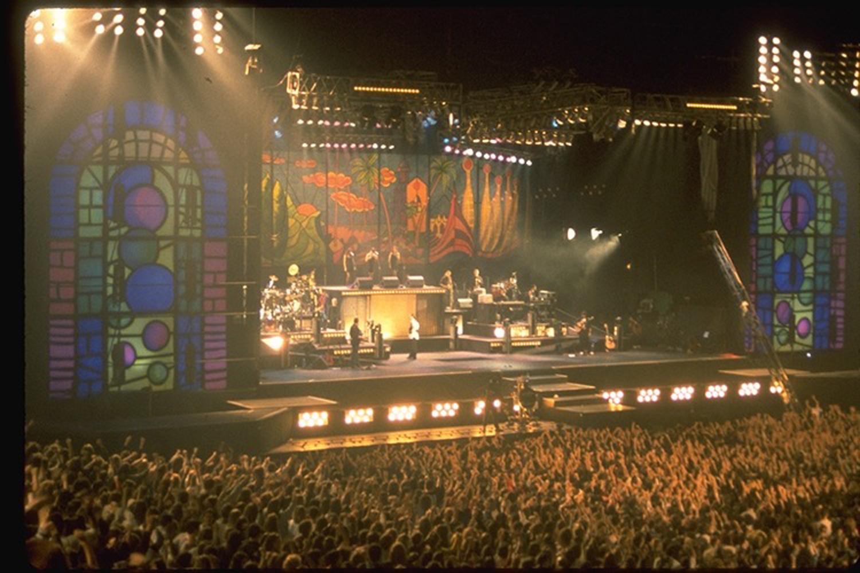 Eros Ramazotti -  Olympic Arena, Barcelona (Set design with Michael Ahern)
