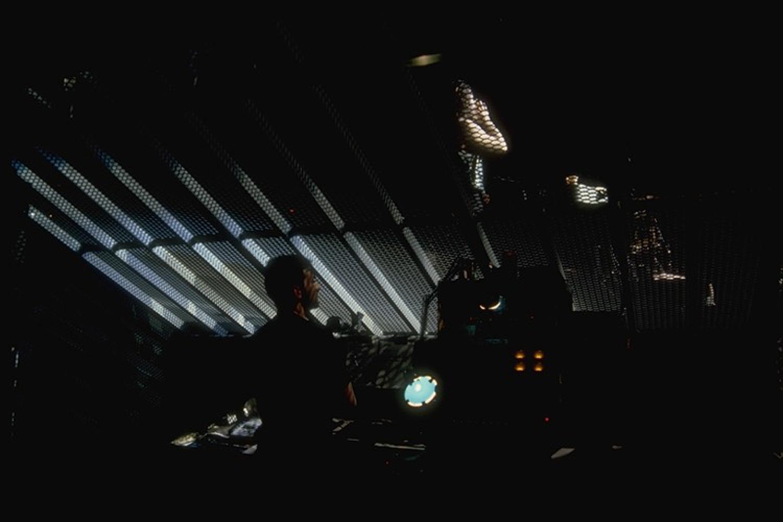U2 -  Joshua Tree Tour - Monitor control beneath stage grille floor