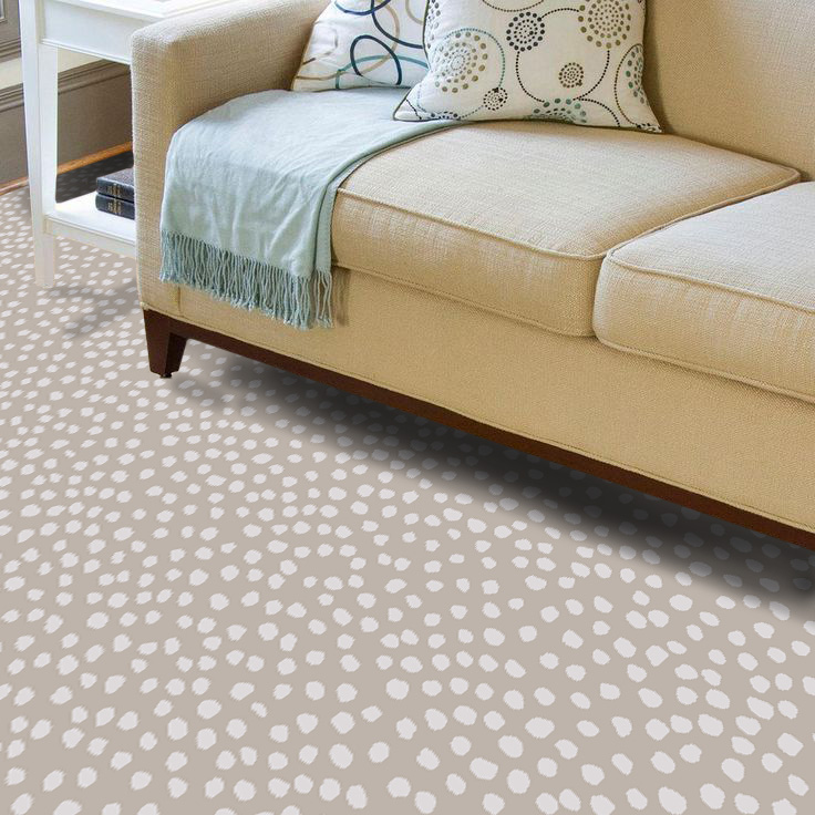 """Pattern # 6149                              Pattern Name: Seeing Spots  Pattern Repeat: 24"""" x 32""""  Straight Match  In Stock"""