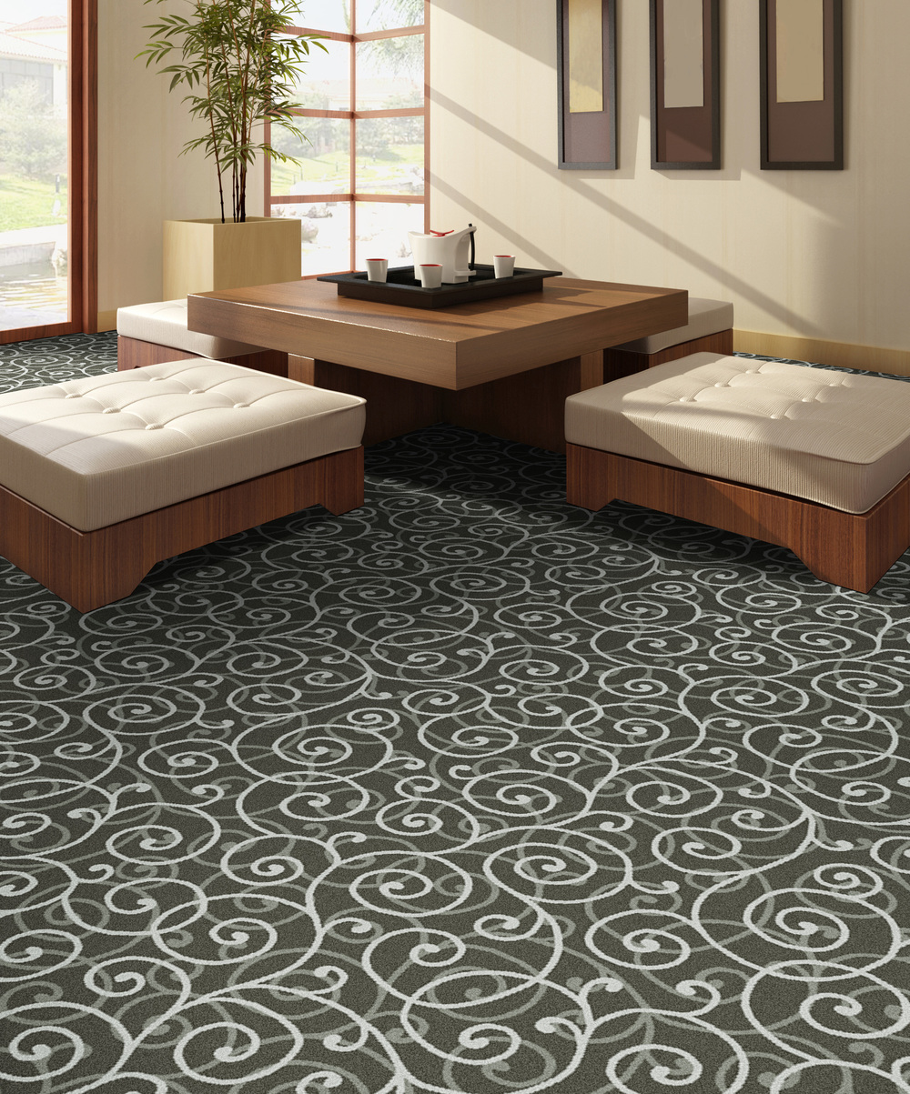 "Pattern # 5506                                                            Pattern Name: Fibonacci  Pattern Repeat: 36"" x 36""  In Stock"