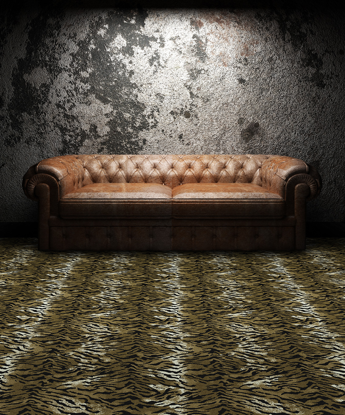 "Pattern # 5492                                                            Pattern Name: Tiger  Pattern Repeat: 36"" x 36""  In Stock"
