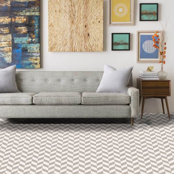 "Pattern # 6173                              Pattern Name: Ziggity Zag 2.0  Pattern Repeat: 12"" x 6""  Straight Match  In Stock"