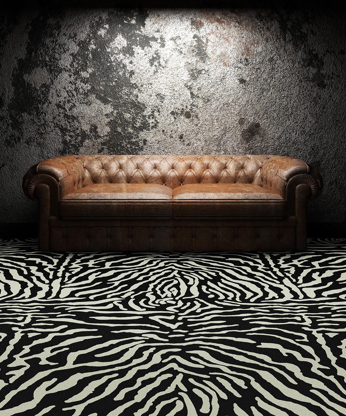 "Pattern # 5492                              Pattern Name: Giant Zebra  Pattern Repeat: 72"" x 72""  In Stock"
