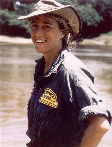 Daphne Greene,1996 Kalimantan Camel Trophy