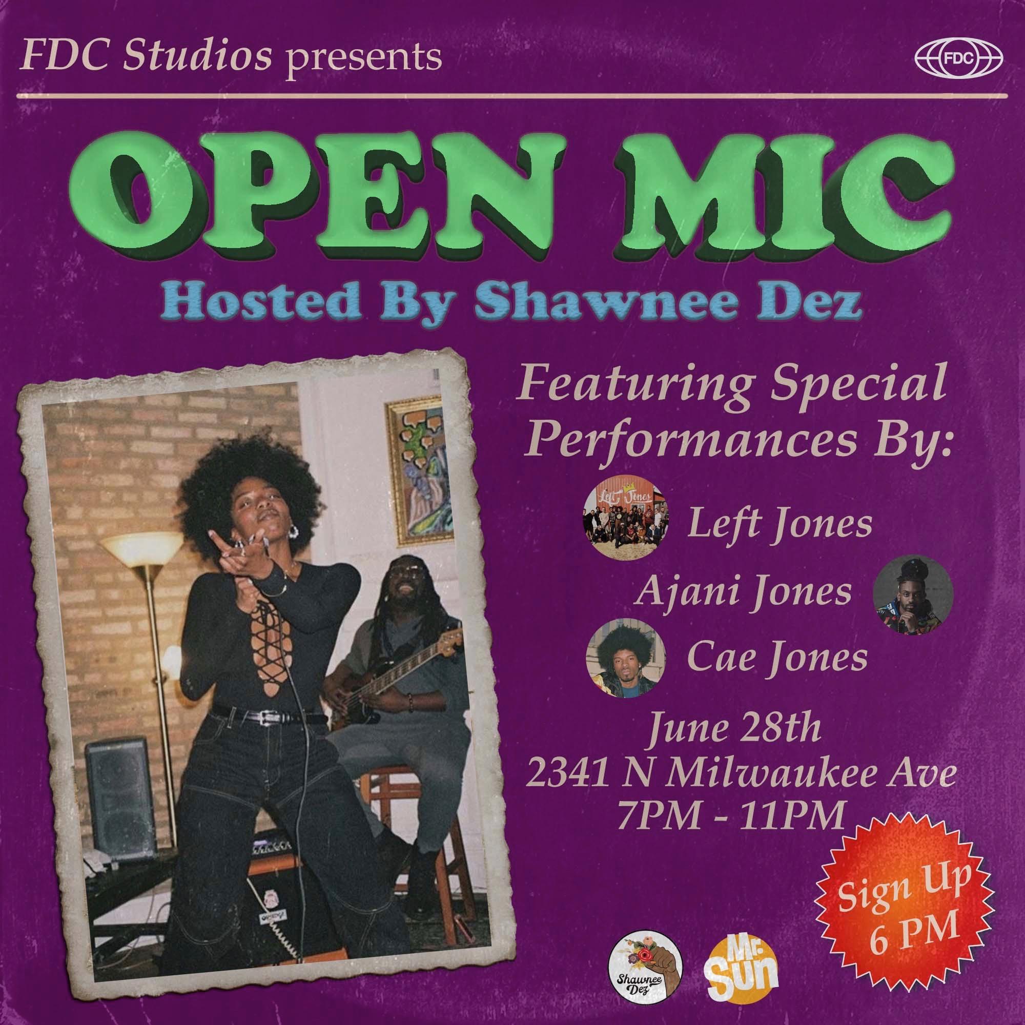 Open Mic 6-28-19