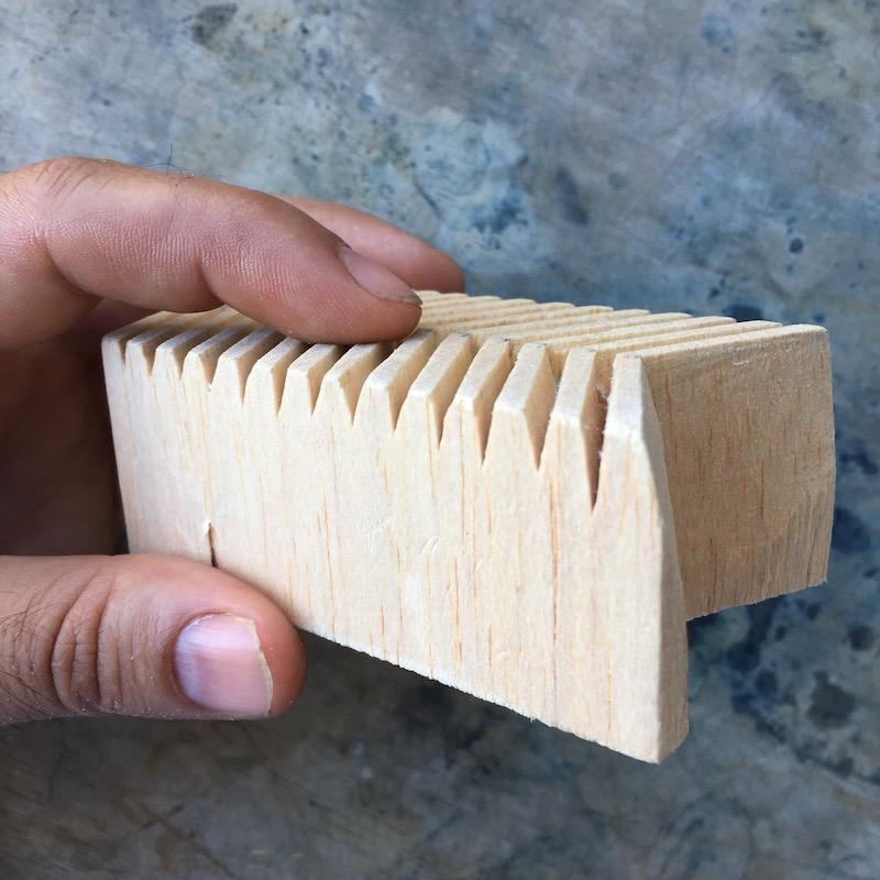 Wood Block Print View How Deep To Carve Graham Keegan.jpg