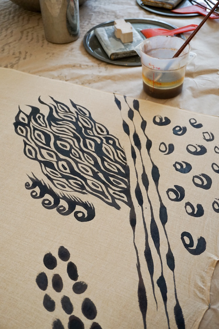 No Boil Black Iron Tannin Print Cotton Workshop Graham Keegan.jpg