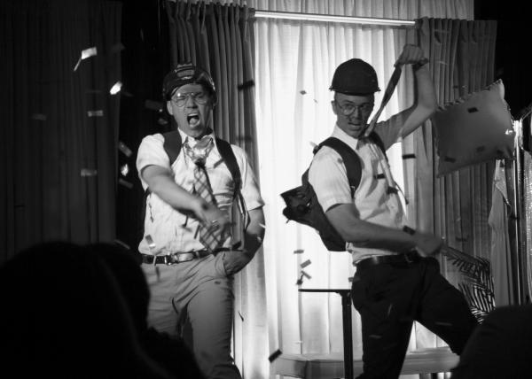 Super Freak (56)Best musical theater live entertainment Charleston 34 West Theater actors Stephen Wayne Jeff Querin.jpg