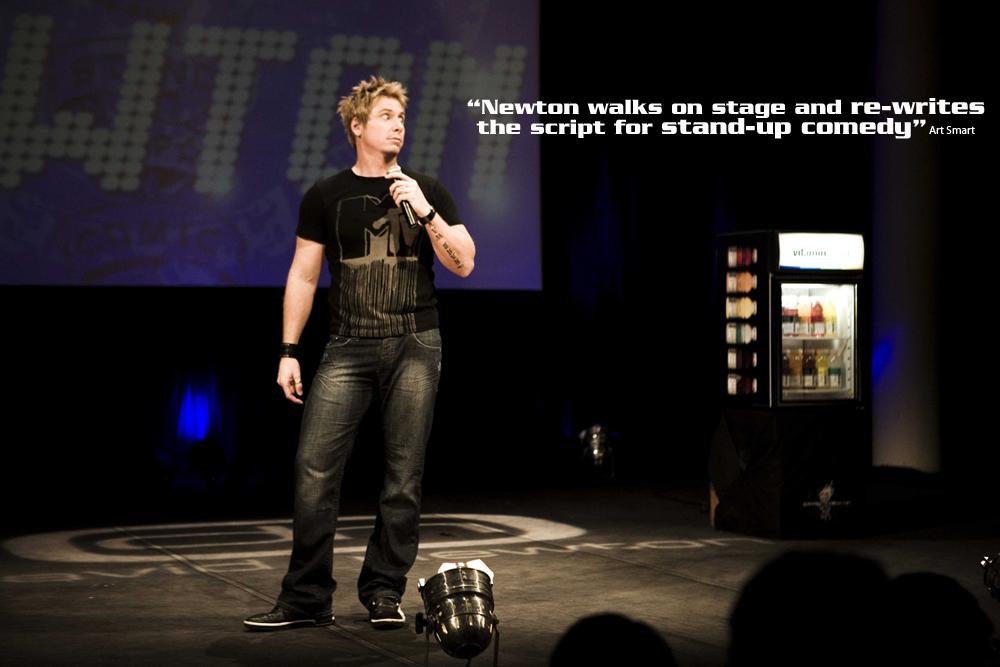 David Newton emcee comedian speaker 3