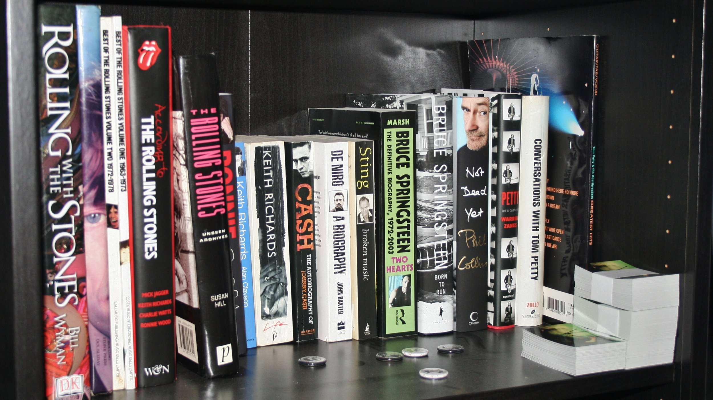 ...Or in this case another two Rock biographies.