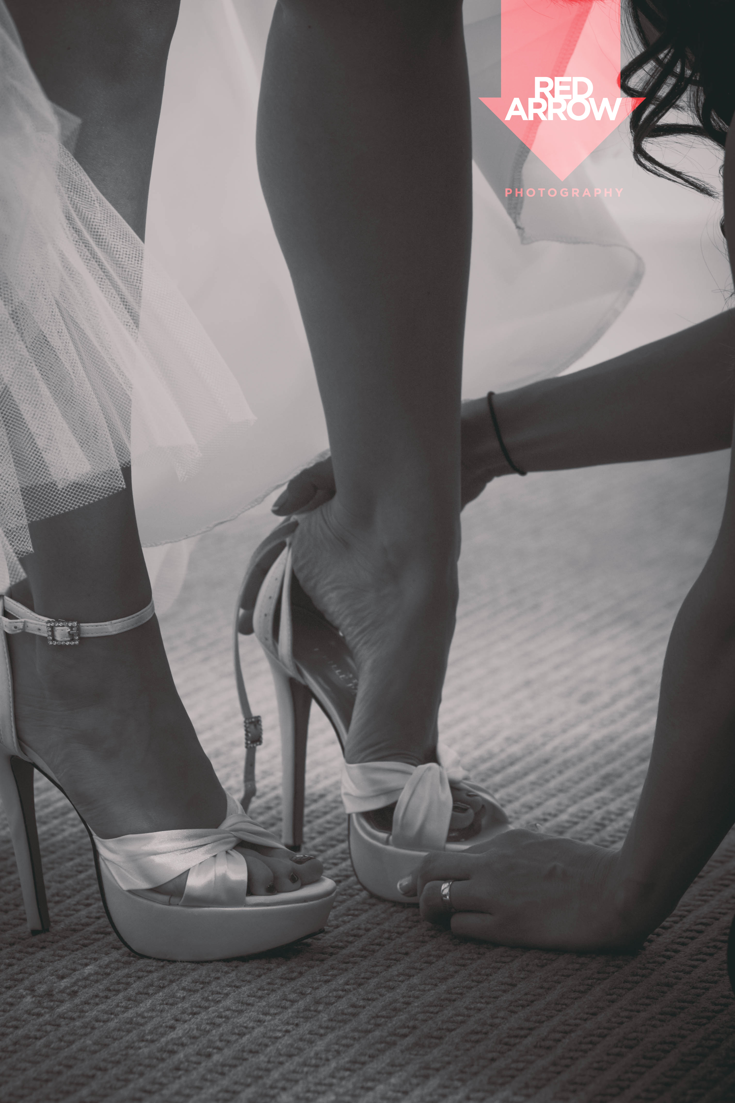 Those are some bridal SHOES.