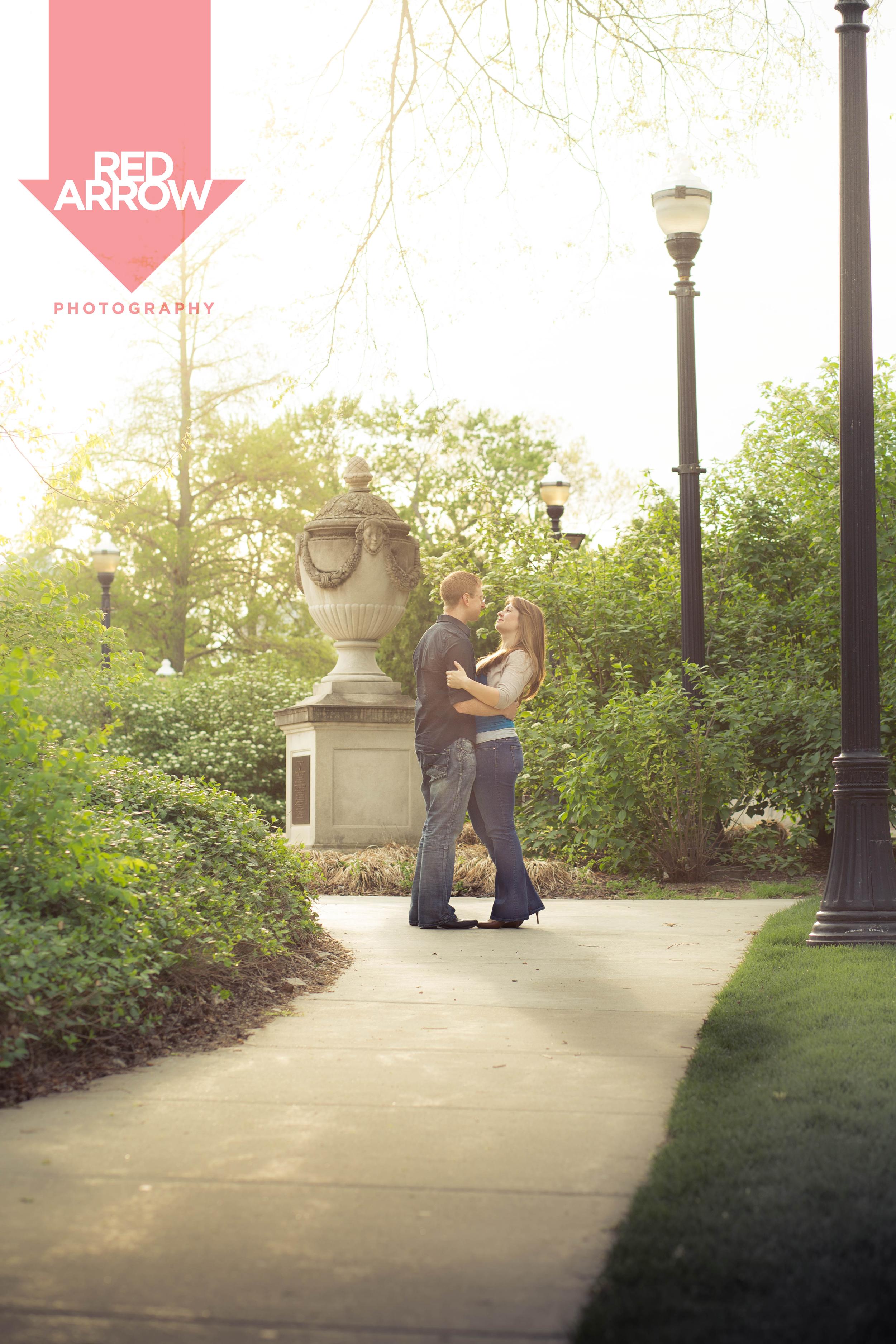 Engagement shoot on OSU Campus, May 2014