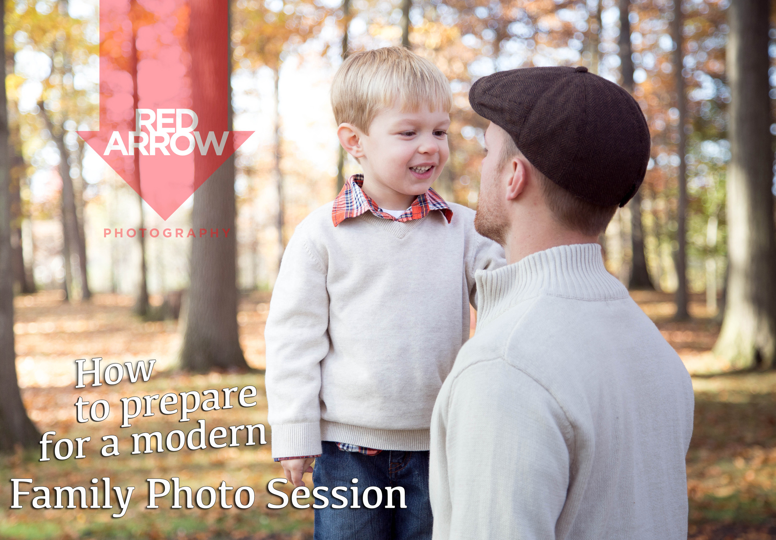 How to prepare for a family photo session - Red Arrow Photography, Akron Ohio