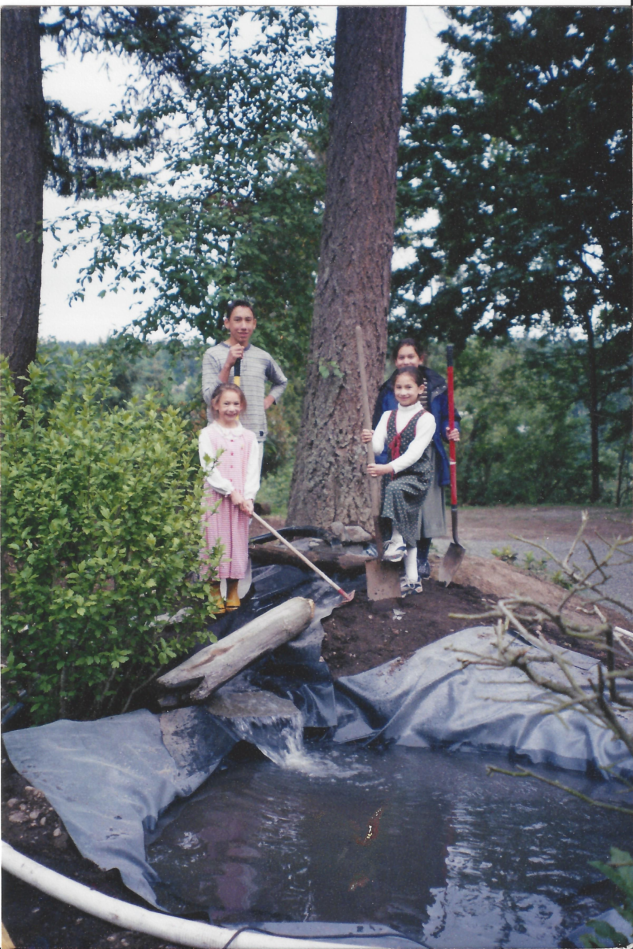 The Pond Kids' First Project - 2001