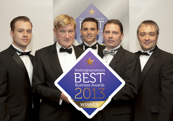 October 18th, 2013  Chinook Sciences Wins Nottinghamshire 2013 Best Business Award