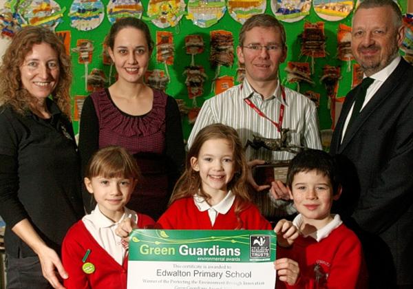 January 28th, 2013  Green guardians: Chinook Energy Sponsored School Award