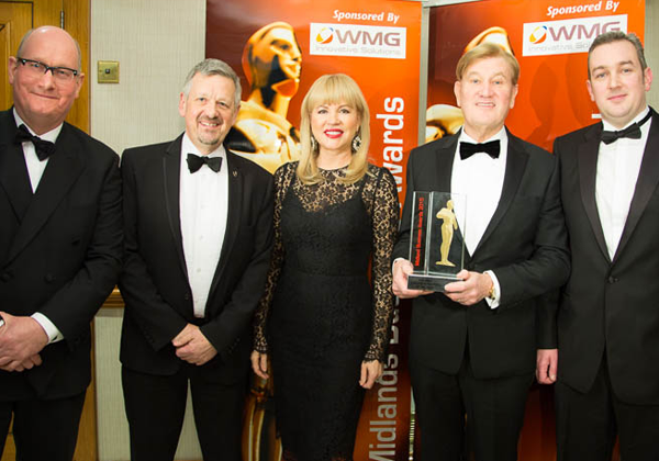 5th March 2015  Chinook Sciences Wins Top Regional Business Award for RODECS®