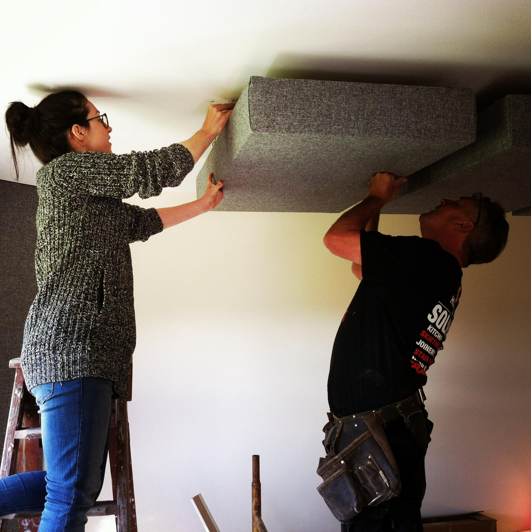 The better half, and Handydad