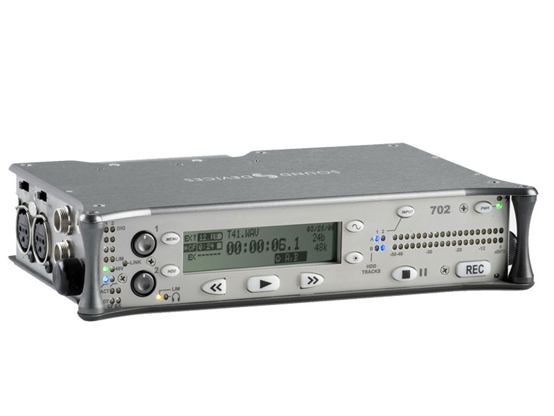 Sound Devices 702   2-track Digital Audio Recorder