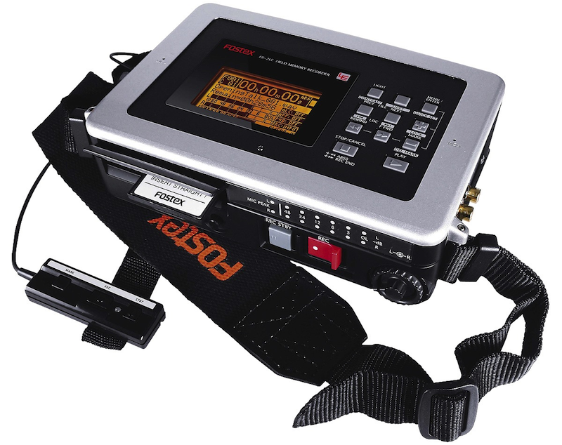 Fostex FR2-LE   Compact 2-track Digital Audio Recorder