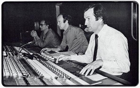Gerry Humphreys (Dean's old man) at the controls.