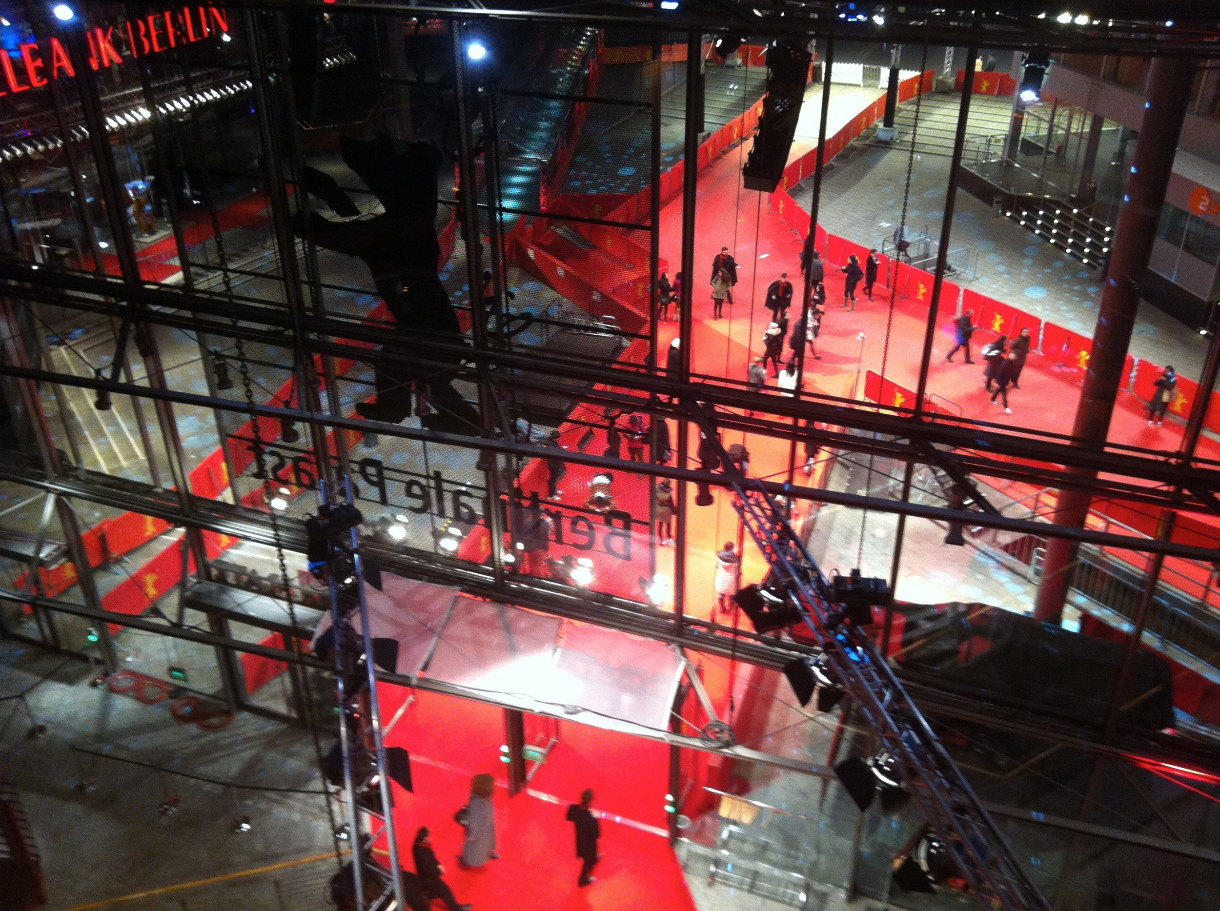 Berlinale Palast Red Carpet Backstage 2015 Sound Ark