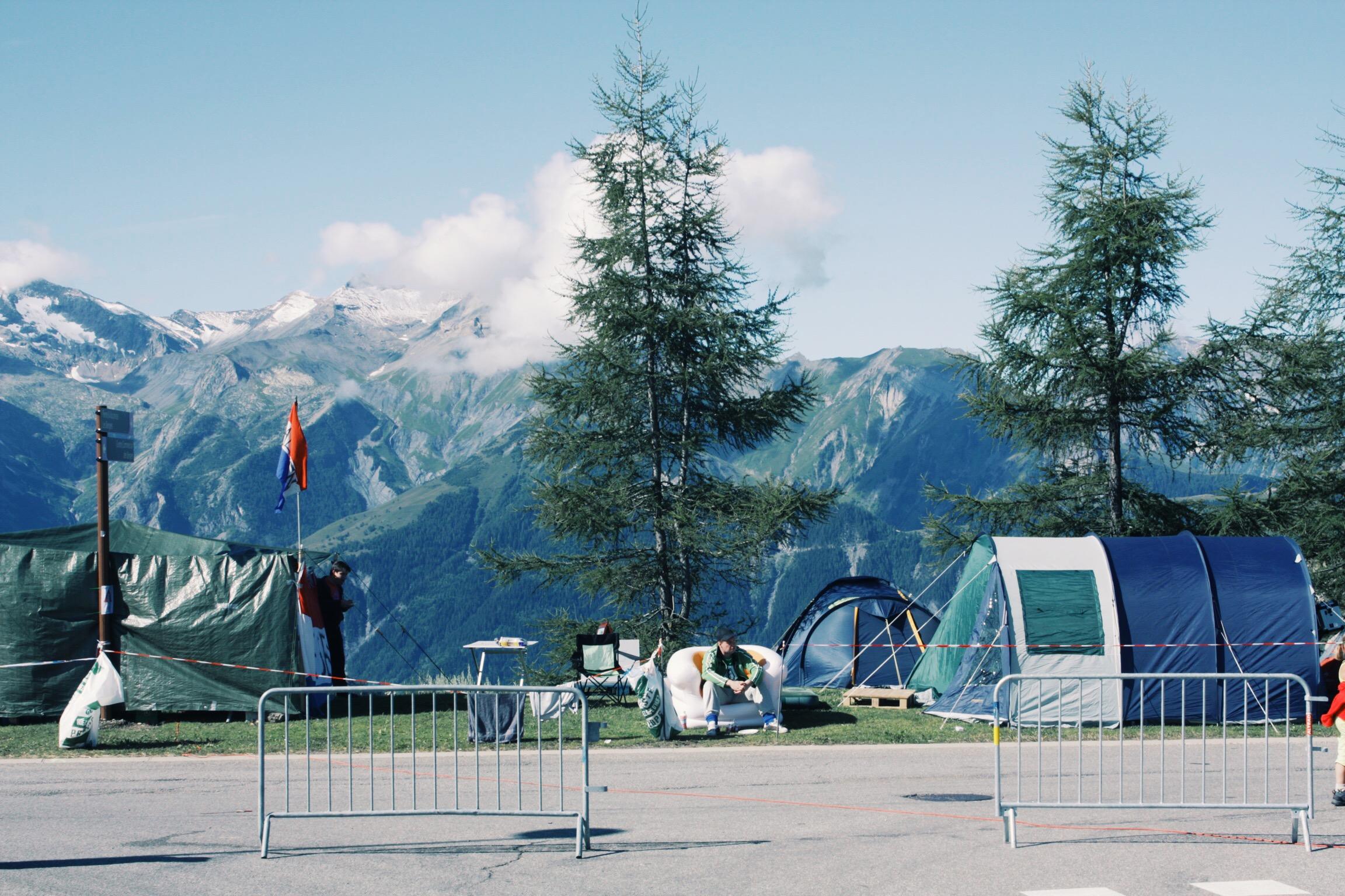 Mornings at Alpe D'Huez